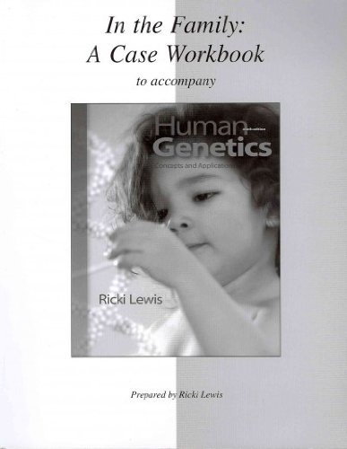 9780077313043: Case Workbook for Human Genetics