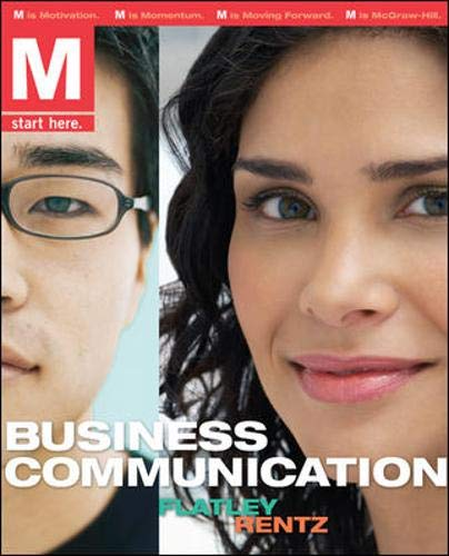 9780077314064: M: Business Communications w/Premium Content Card and Student Prep Cards