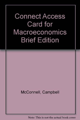 9780077314477: Connect Access Card for Macroeconomics Brief Edition