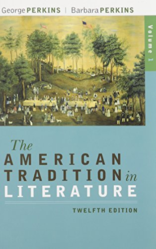 The American Tradition in Literature With Ariel: Perkins