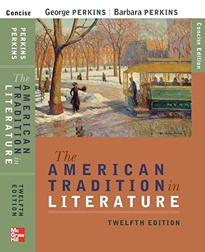9780077315429: Amer. Trad. in Literature, Concise - With Ariel CD