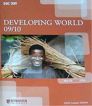 9780077316754: Developing World SOC 300 Custom Edition Strayer University