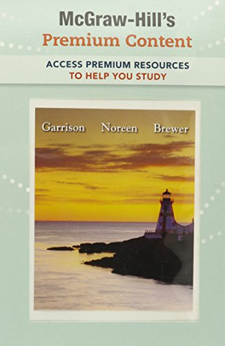 9780077317744: Premium Content Access Card for Managerial Accounting