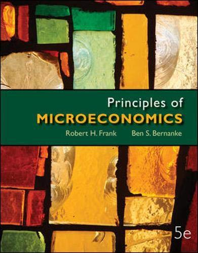 9780077318512: Principles of Microeconomics (McGraw-Hill Series in Economics)