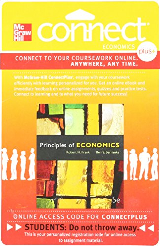 9780077318659: Connect 2-Semester Access Card for Principles of Economics