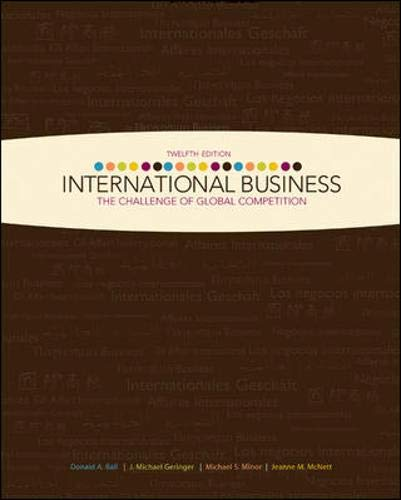 9780077318833: International Business: The Challenge of Global Competition w/ CESIM access card