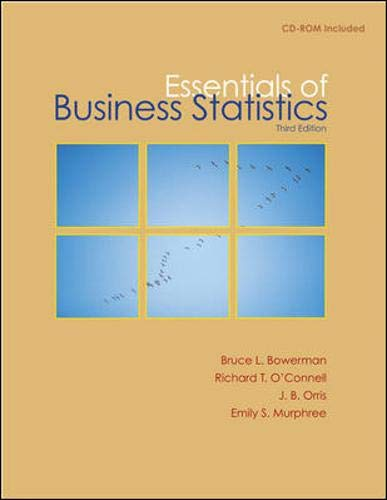 9780077323134: Essentials of Business Statistics with Student CD