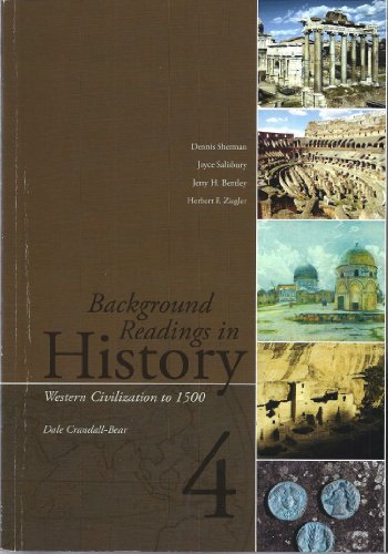 9780077324391: Background Readings in History 4: Western Civilization to 1500 (Solano Community College)