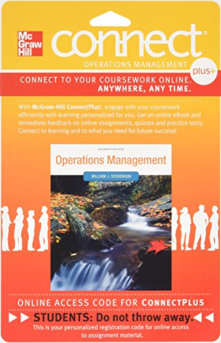 9780077327439: Connect Plus OM 1 sem Access Card for Operations Management 11e