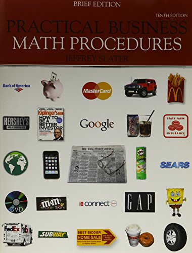 Practical business math procedures mp with aleks: jeffrey slater.
