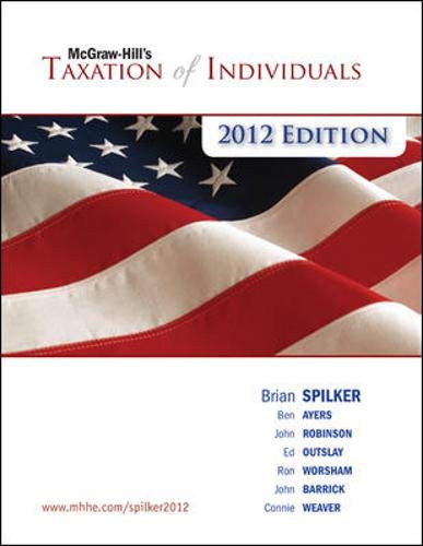 9780077328368: McGraw-Hill's Taxation of Individuals, 2012e