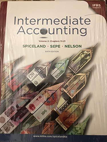 9780077328900: Intermediate Accounting: Ch.13-21