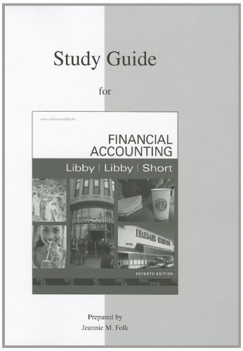 9780077329099: Study Guide to accompany Financial Accounting