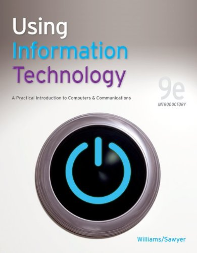 9780077331085: Using Information Technology 9e Introductory Edition