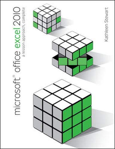 9780077331214: Microsoft Office Excel 2010: A Lesson Approach, Complete