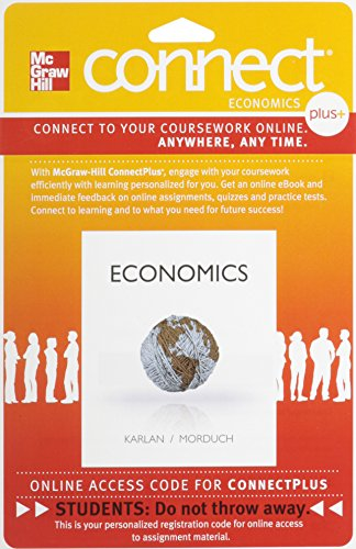 9780077332495: Connect Plus Economics with LearnSmart Two Semester Access Card for Economics