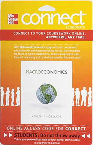 9780077332631: Connect Economics with LearnSmart One Semester Access Card for Macroeconomics