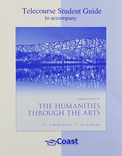 9780077333263: Telecourse Guide for Humanities through the Arts