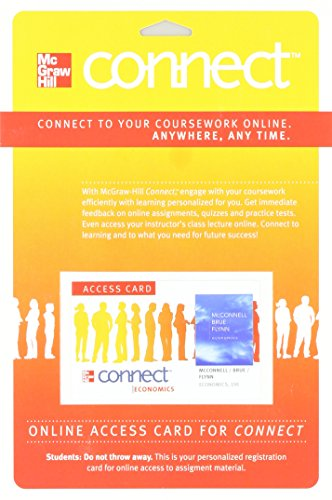 9780077337742: Connect Economics with LearnSmart Two Semester Access Card for Economics