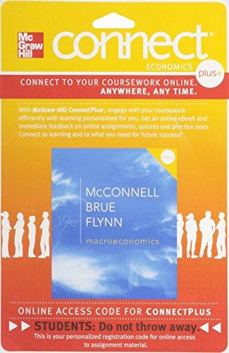 Macroeconomics, Connect Plus Economics With Learnsmart One: Flynn, Sean