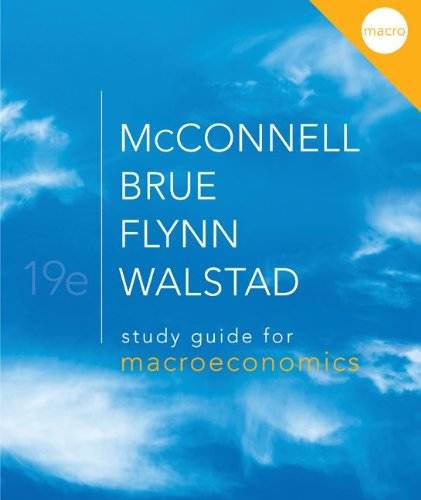 9780077337964: Study Guide for Macroeconomics