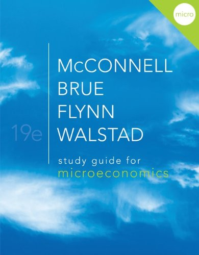 9780077338008: Study Guide for Microeconomics