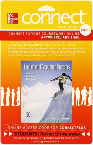 9780077338060: Connect 2-Semester Access Card for Fundamental Accounting Principles