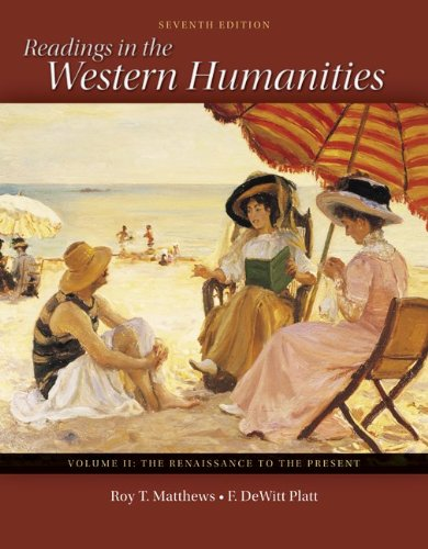 9780077338497: Readings in the Western Humanities Volume 2