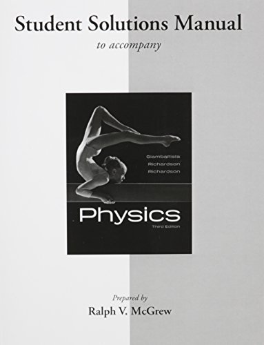 9780077340551: Student Solutions Manual for Physics