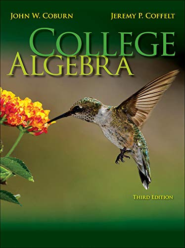 9780077340865: Student Solutions Manual for College Algebra