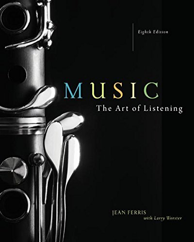 9780077342609: Music: The Art of Listening [With 4 CDs]