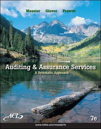 9780077343460: Auditing and Assurance Services with ACL Software CD