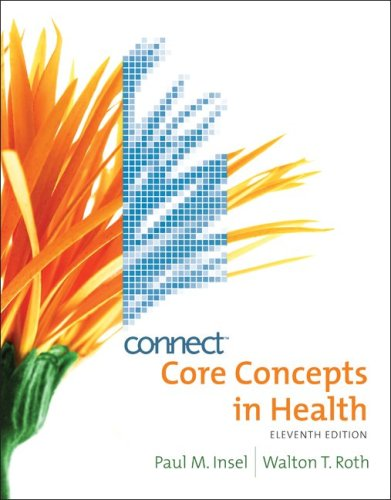 9780077344283: Core Concepts in Health with Connect Plus Personal Health Access Card