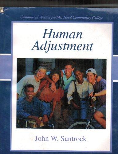 9780077344894: Human Adjustment (customized version for mt Hood community college)