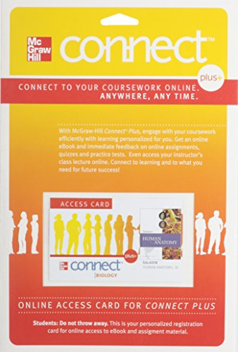 9780077345594: Connect Plus Access Card for Human Anatomy includes APR & PhILS