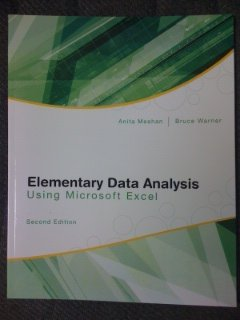 9780077346065: Elementary Data Analysis Using Microsoft Excel- 2nd Edition