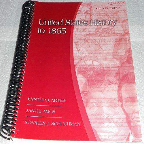 9780077347178: UNITED STATES HISTORY TO 1865 >CUSTOM<