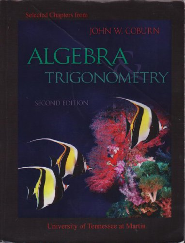 9780077347581: Selectgd Chapters from Algebra and Trigonometry (University of Tennessee at Martin)