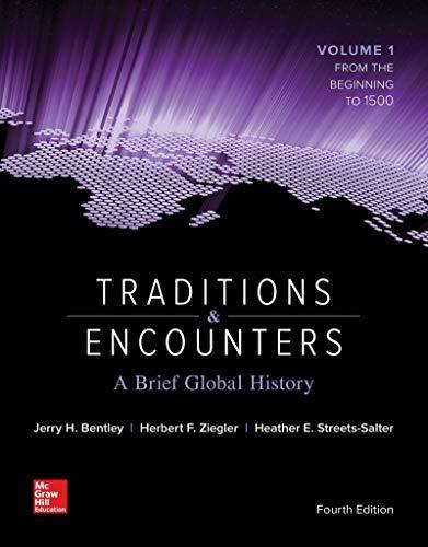 9780077348830: Traditions & Encounters: A Brief Global History [Ashford University Custom Edition]