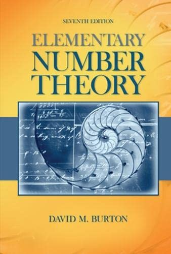 9780077349905: Elementary Number Theory