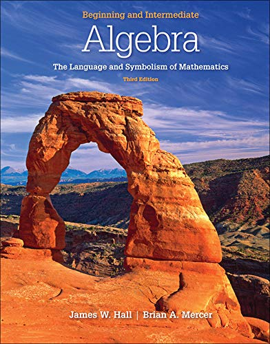 9780077350048: Beginning and Intermediate Algebra: The Language & Symbolism of Mathematics
