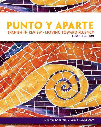 9780077350185: Student Audio CD Program for Punto y Aparte 4e