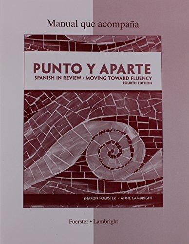 9780077350222: Workbook/Laboratory Manual for Punto Y Aparte