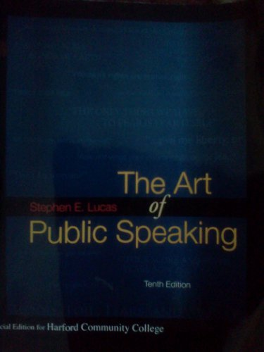 9780077350987: The Art of Public Speaking