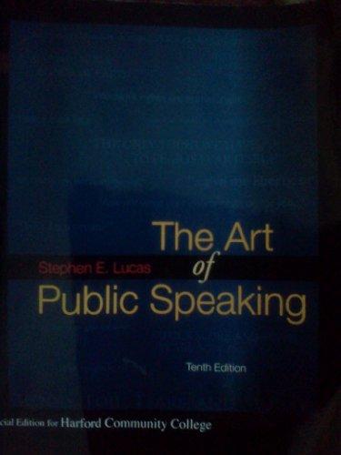 9780077350987: The Art of Public Speaking