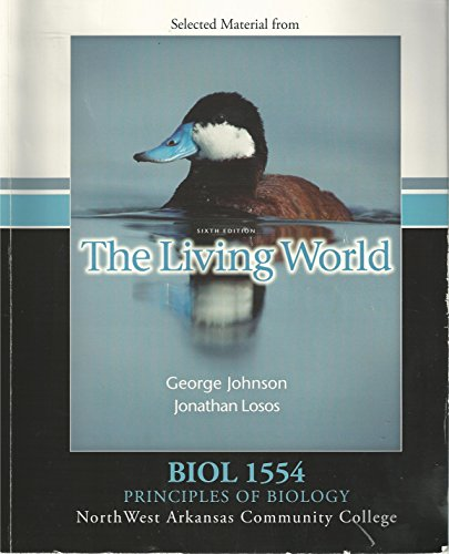 9780077351489: The Living World (Selected Material), Custom Edition for North West Arkansas Community College, BIOL 1554, Principles of Biology
