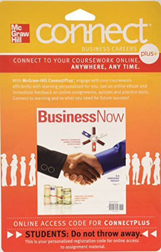 9780077352578: Connect 1-Semester Access Card for Business Now