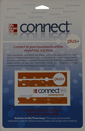 9780077353896: connect plus+ composition (Online Access Card for Connect and Ebook)