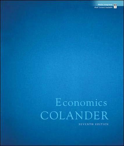 9780077354244: Economics + Economy 2009 Update