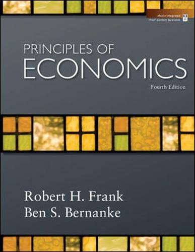 9780077354299: Principles of Economics + Economy 2009 Update